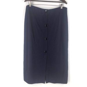 ASOS Size 14 Button Front Midi Pencil Skirt